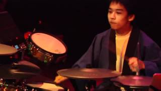 #03 Junya Nishimoto from Japan; V-Drums World Championship 2012