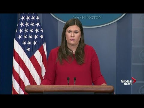 "White House Press Briefing amid ""Dreamer"" backlash"