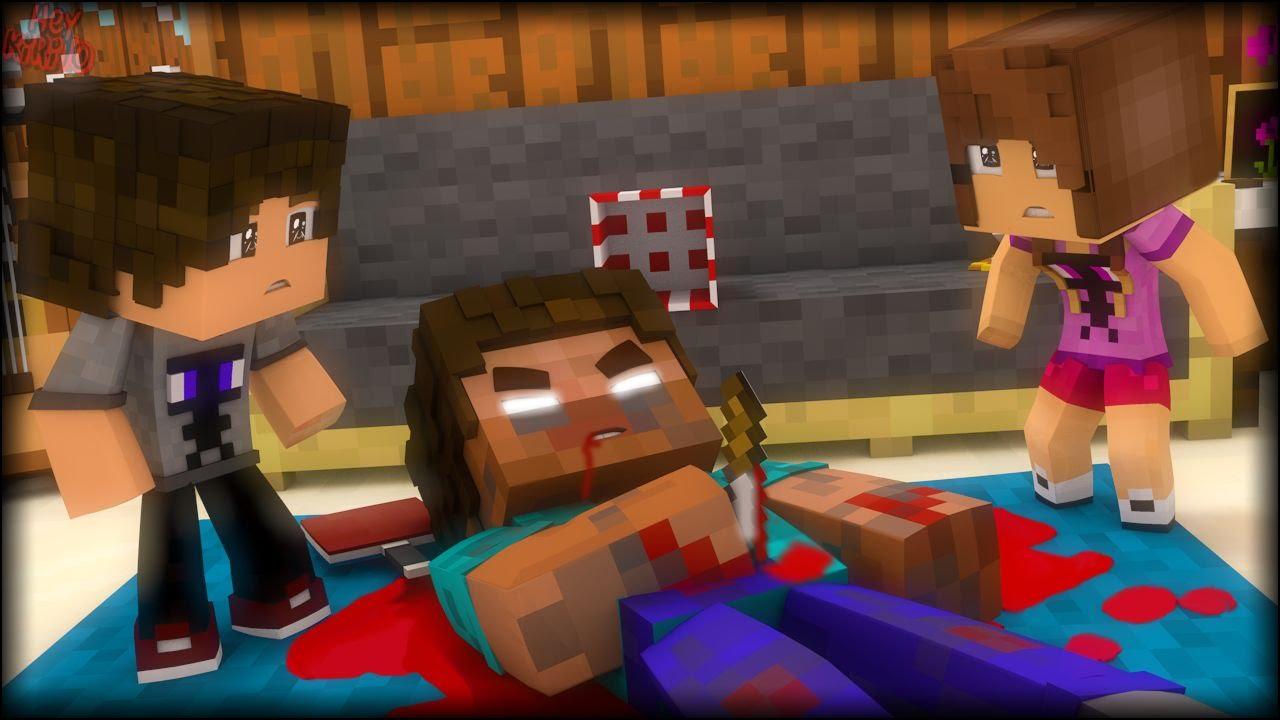 Matei O Herobrine Hello Neighbor 4 Minecraft