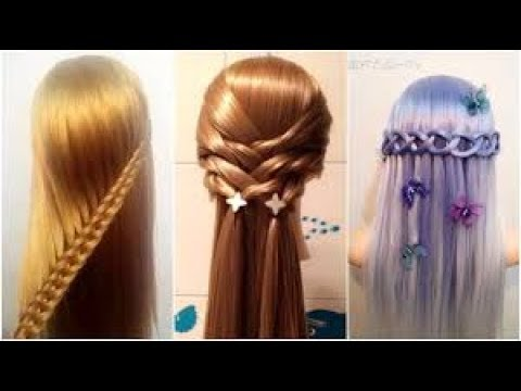 10-amazing-hairstyles-tutorials-||-hair-hacks-for-girls---part---1