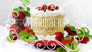 Strawberry Shortcake, My Birthday Cake!!!! ♥