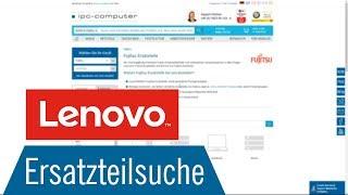 Lenovo Partslookup: Wie finde ich das benötigte Lenovo-Ersatzteil schnell und einfach [GER/EN]