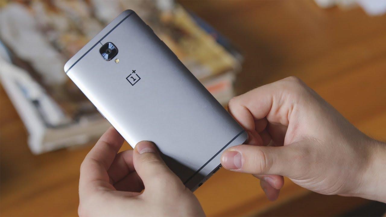 video OnePlus 3 (графит)