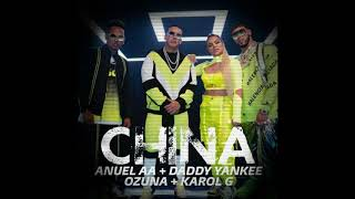 Anuel AA ✘ Daddy Yankee ✘ Karol G ✘ Ozuna ✘J Balvin ✘ Ger Dj - China Remix
