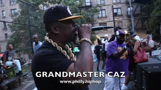 GRANDMASTER CAZ    OF  THE  COLD  CRUSH BROTHERS