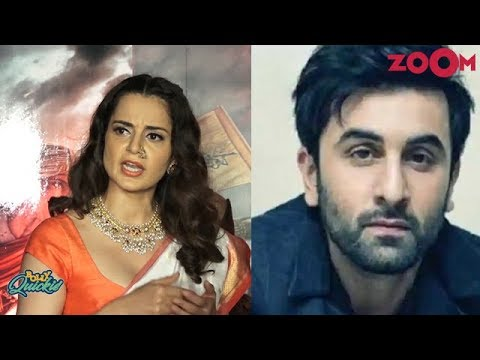 Kangana Ranaut LASHES OUT at Ranbir Kapoor after Alia Bhatt | Bolly Quickie