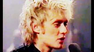 Roger Taylor - Future Management + Interview (German TV, 1981)