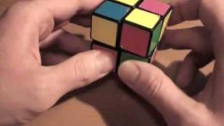 Сборка Кубика Рубика 2х2х2. Часть 1/2.