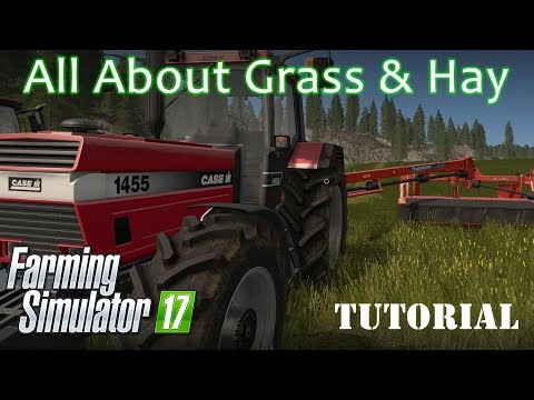 Farming Simulator 17 - All about Grass and Hay - A guide to grass handling equipment