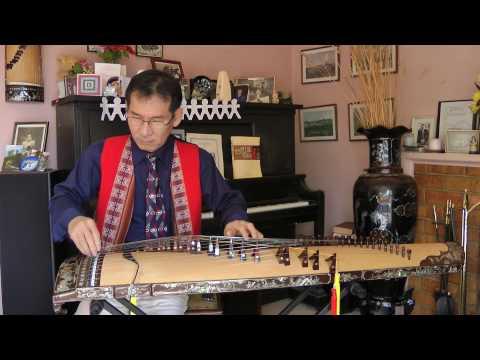 Đăng Thảo - Bình Bán Vắn - Đàn Tranh Viet Nam (Vietnamese 22 stringed Zither)