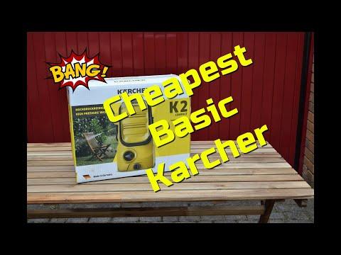 Karcher Compact Basic K2 Pressure Washer