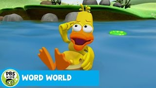 WORD WORLD | A Stuck Duck | PBS KIDS