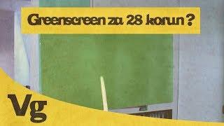 Greenscreen za 28 korun ?  (VIDEO geek)
