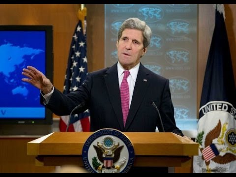 John Kerry Gives Human Rights Report - Mentions Russia Syria Uganda Venezuela CAR N.Korea China