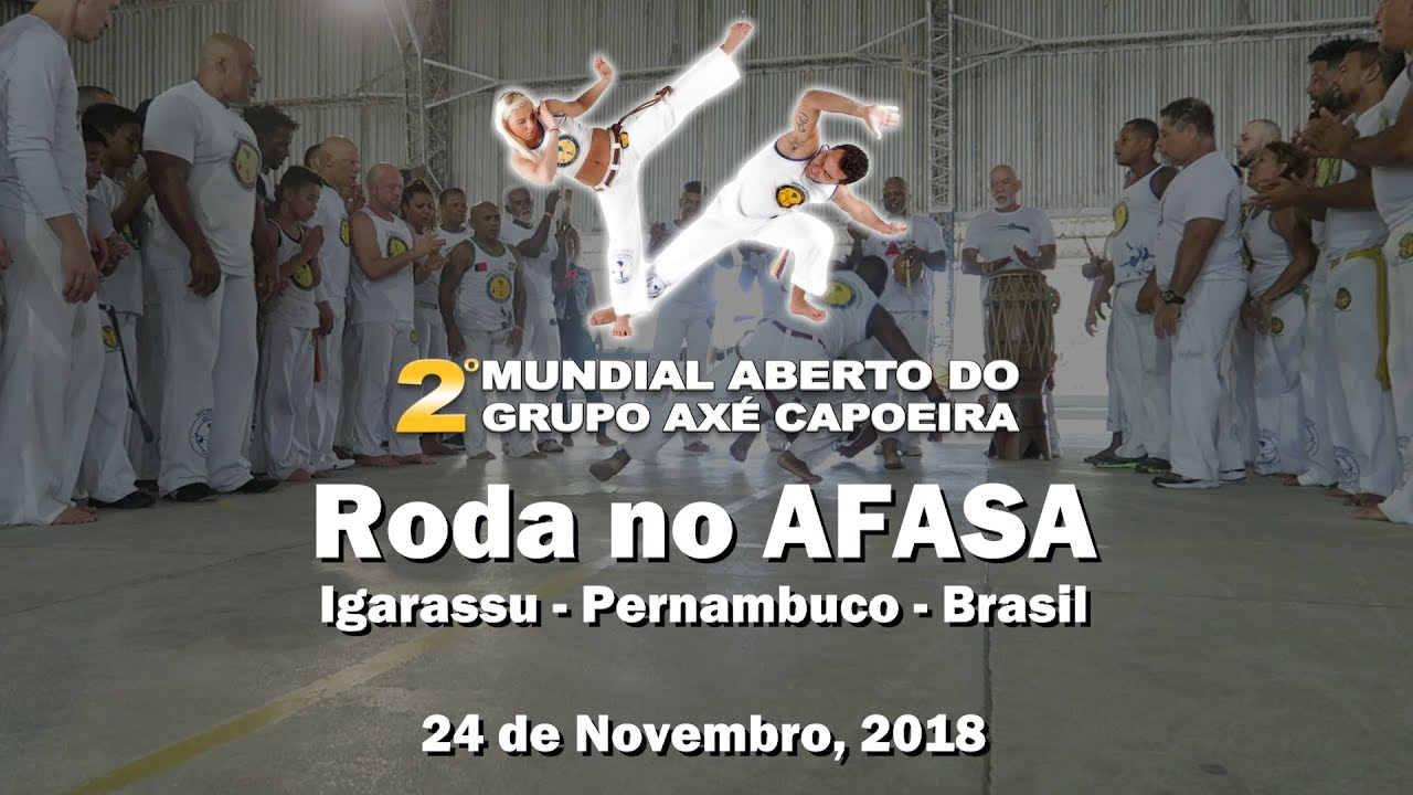2º Mundial Aberto do Axé Capoeira - Roda no Afasa