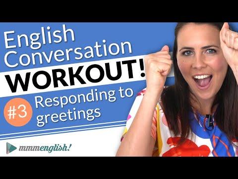 English Conversation Training ??Pronunciation Workout #3