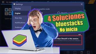 Incapaz De Comenzar El Engine Bluestacks 4
