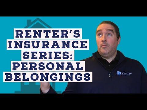 Renters Insurance Mini-Series: Personal Belongings - YouTube