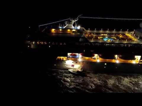 Cape Cod Canal Pilot Boat - Phantom 4 Pro low light test