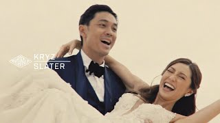 Kryz and Slater: A Wedding Highlights Film in Shangri-la Mactan, Cebu