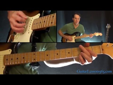 Everybody Wants To Rule The World Guitar Lesson - Tears for Fears