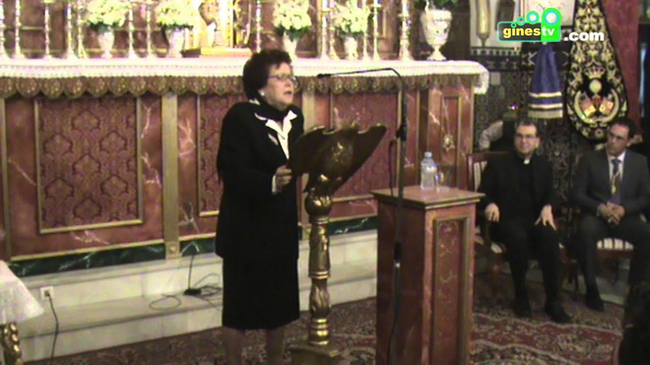 Actuación Justa Ruiz en el XIII Pregón de la Hermandad de Santiago Apóstol