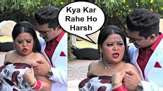 Bharti Singh Gets Angry On Husband Harsh Limbachiyaa While Photoshoot