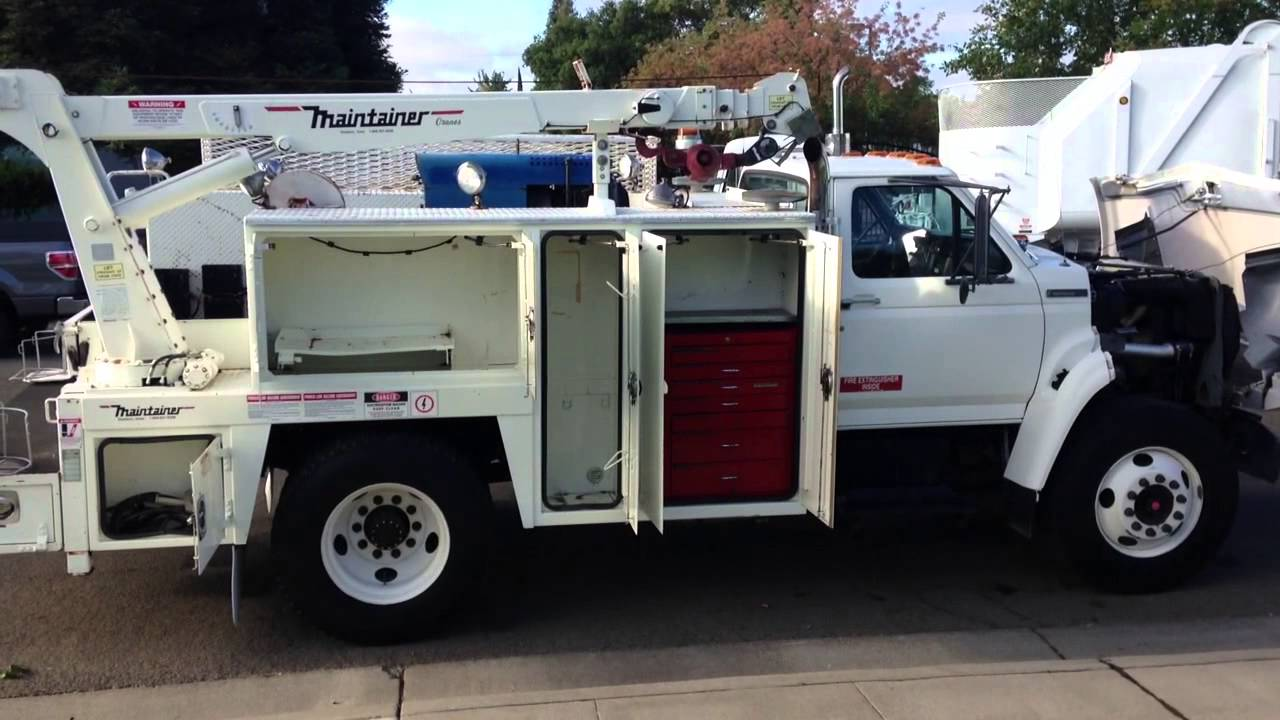 1997 Ford F 800 Mechanics Service Truck For Sale Youtube