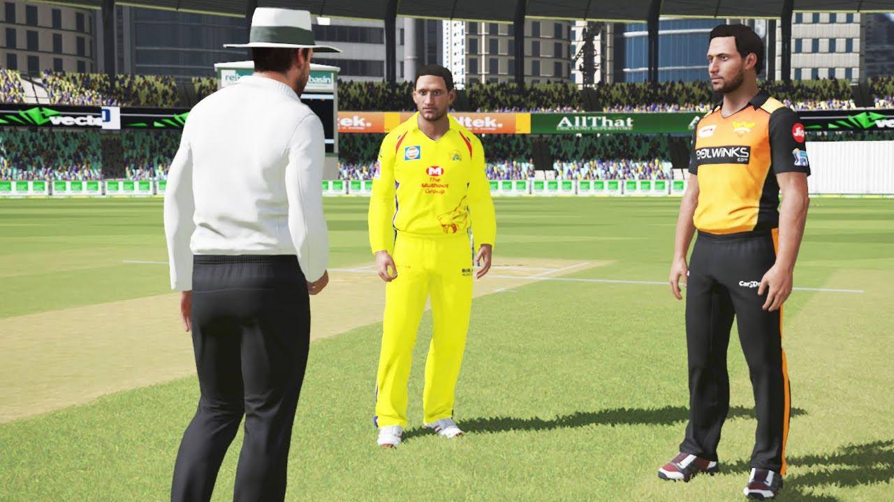 IPL 2020 Chennai Super Kings vs Sunrises Hyderabad Match 1 Cricket Gameplay