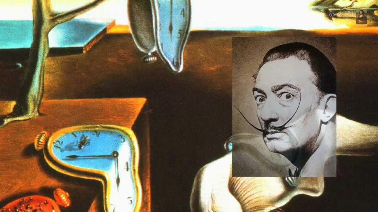 إصرار الذاكرة للرسام الاسباني سلفادور دالي - YouTube