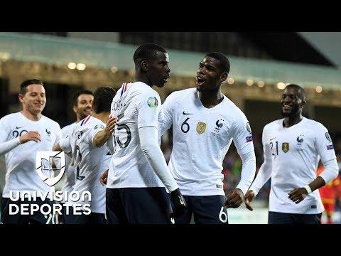 Andorra 0-4 Francia - RESUMEN Y GOLES - Grupo H - Clasificatorio Eurocopa 2020