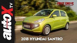 2018 Hyundai Santro Review | First Drive | autoX