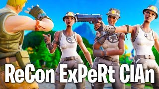 Fortnite RECON EXPERT YouTubers... (GONE WRONG)