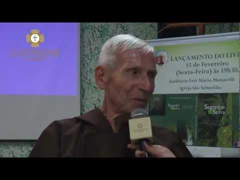 """FRADE CAPUCHINHO LANÇA LIVRO SOBRE OS """"MISTÉRIOS DA FLORESTA AMAZÔNIA""""."""