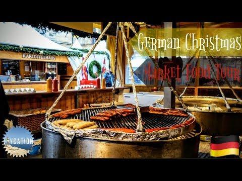 BERLIN CHRISTMAS | GERMAN MARKET FOOD TOUR 🇩🇪