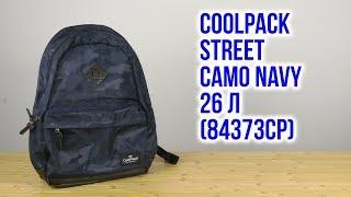 Розпакування CoolPack Street Camo Navy 44 x 31 x 18 см 26 л 84373CP