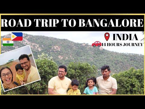 ROAD TRIP TO BANGALORE II TRAVEL VLOG II Filipino Indian Family Vlog # 157