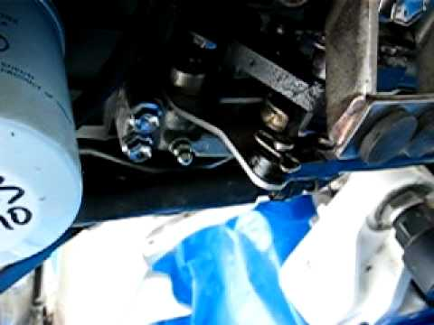 Johnson 90 outboard: shifter cable adjustment