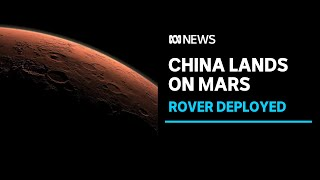 China reports successful spacecraft landing on Mars | ABC News