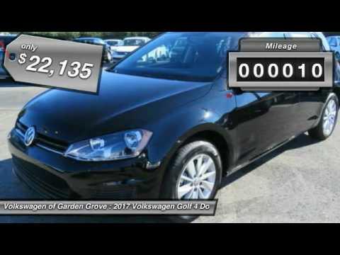 2017 Volkswagen Golf Garden Grove CA HM017866 YouTube