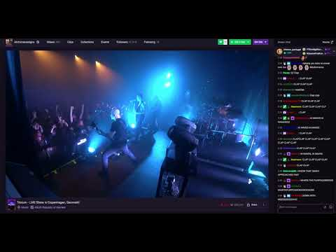 Trivium - In Waves Live in Copenhagen (With Twitch Chat)