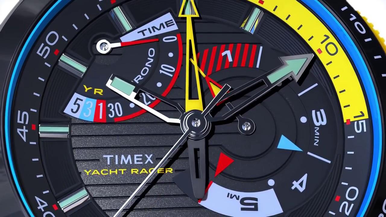 1cc8c8dd1c6e TIMEX Yacht Racer - představení funkcí