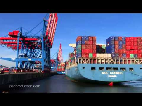 Mar  Port of Hamburg Container terminal operations