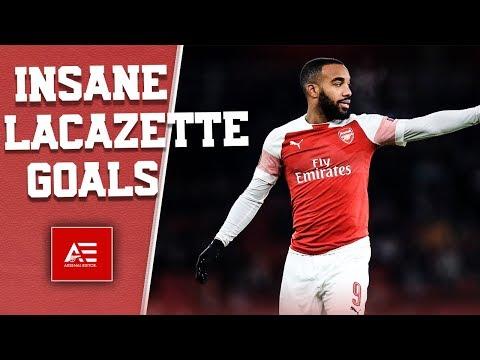 10 Times Alexandre Lacazette Scored Insane Goals