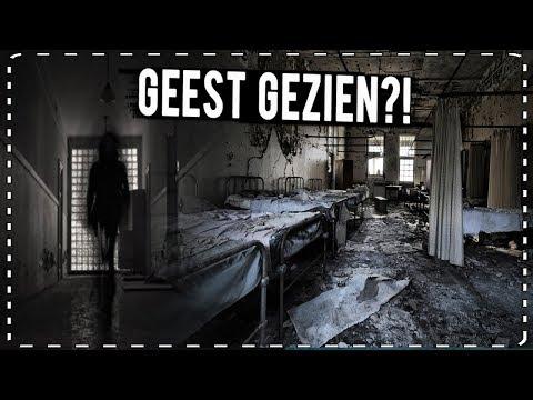 GEEST GEZIEN in VERLATEN HORROR ZIEKENHUIS (paranormale activiteiten)