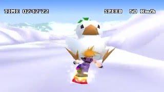 Final Fantasy 7 (PC) Snowboard Mini Game