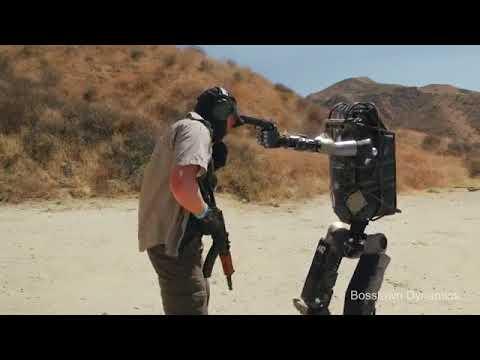 ทดสอบหุ่นยนต์แบบใหม่ สุดล้ำ!! ตำรวจทหารในโลกอนาคต หุ่นยนต์ใหม่ล่าสุด
