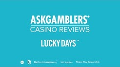 Lucky Days Casino Video Review | AskGamblers