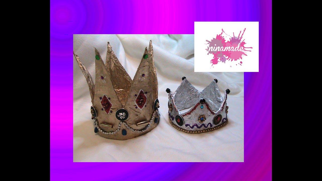 Manualidad para ni os como hacer una corona de los reyes - Como hacer una manualidad ...