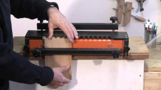 Dovetail Jig Setup - A Woodworkweb.com Woodworking Video
